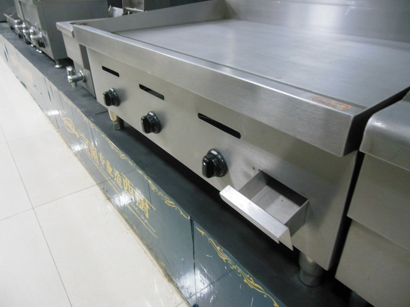 stainlesss steel Countertop Gas Griddle