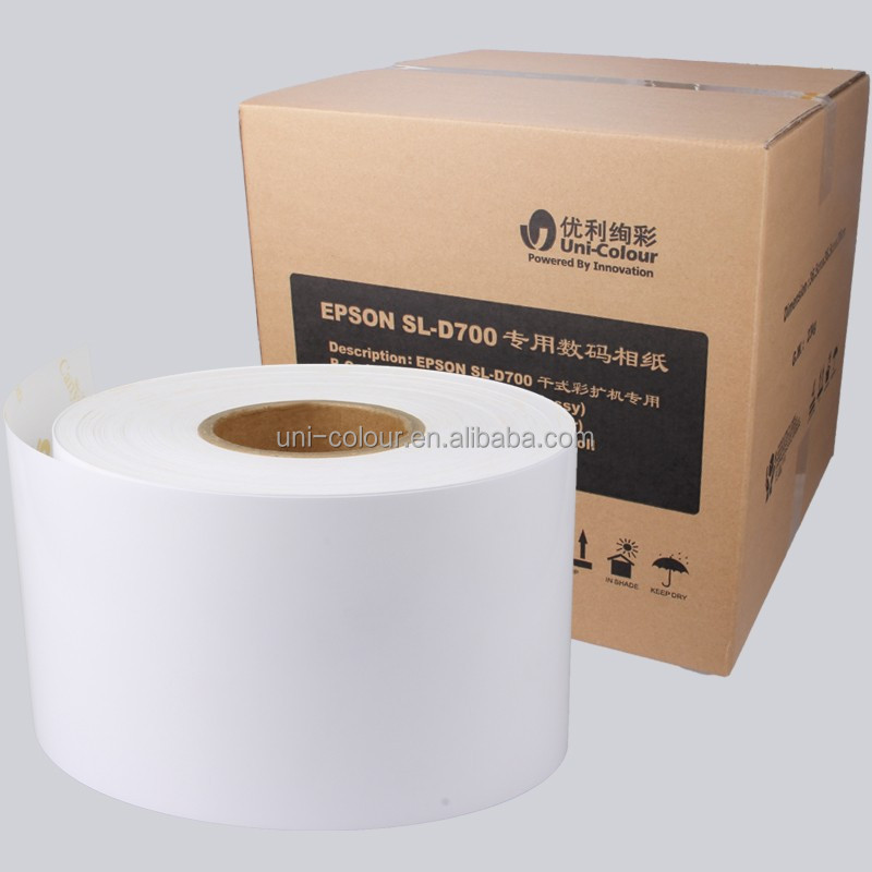 "RC Roll Paper Waterproof 6""x100m for Epson D3000 Photo Paper"