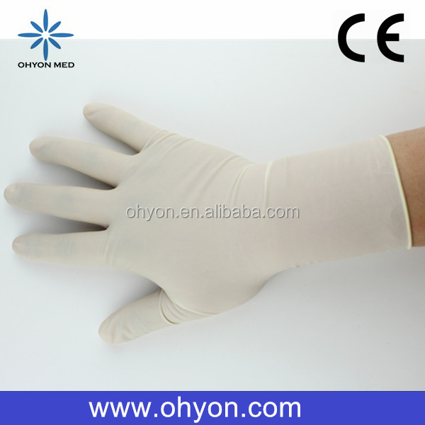 2016 Medical disposable best supplies food service gloves cheap latex gloves manufacturer