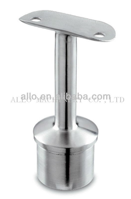 Stainless Steel fence rail glass terraces butt weld pipe fitting handrail bracket pipe joint