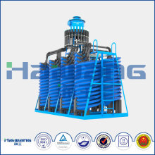 River Gold Mining Equipment Power Gravity Spiral Chute