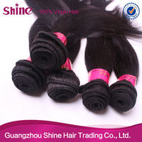 5A human hair extension gray human hair