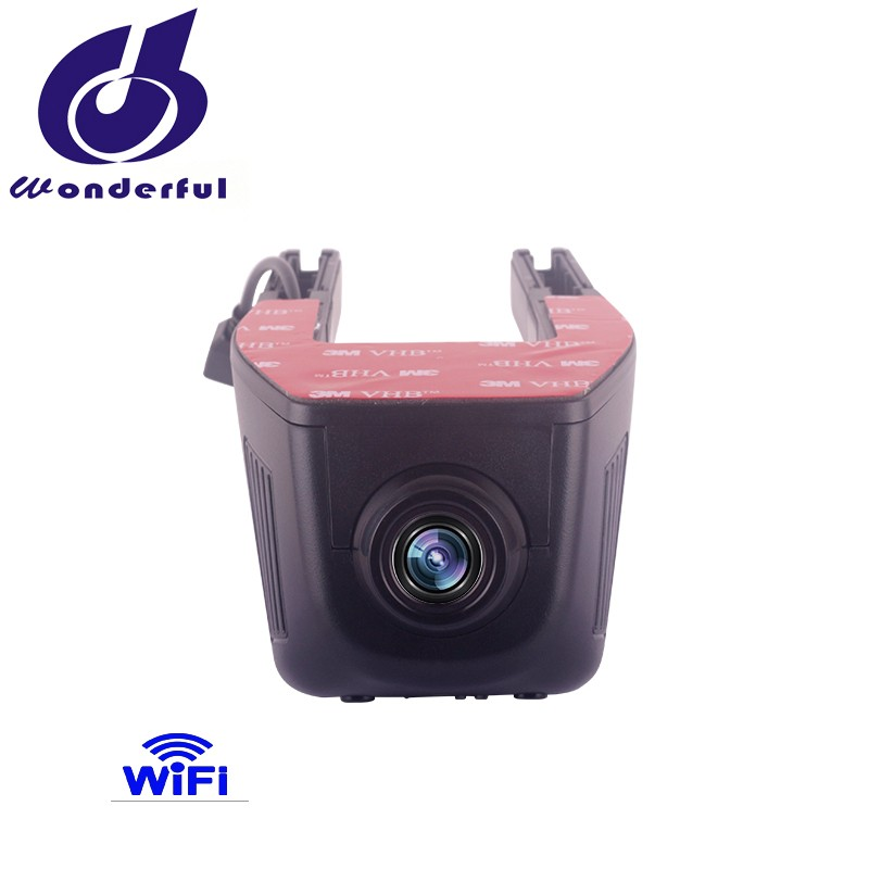 New 1080P hidden car recorder without screen with wifi controlled