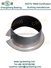Flanged bushings self lubricating composite oilless slide plain bearings