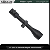 Fully multi-coated black matte red dot rifle scope with quick detach