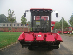 4 rows, 140 hp, 2400mm cutter width, corn harvester combine