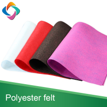 China recycled custom width 100% Pet Non-woven Needle Felt Fabric