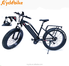 Long range 48v 1000w mid drive motor fat tire mountaine electrical bicycle
