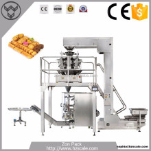 High Quality Automatic Wafer Biscuit Packing Machine with Weighing Machine