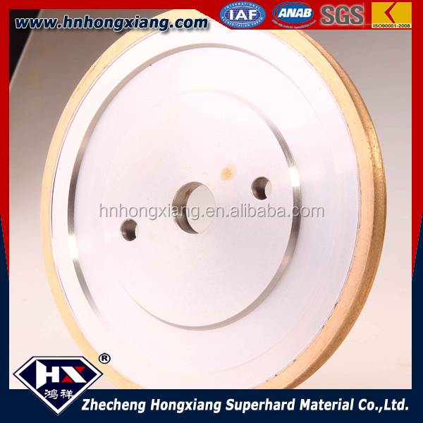 Arc shape diamond flat wheel /diamond glass grinding wheel