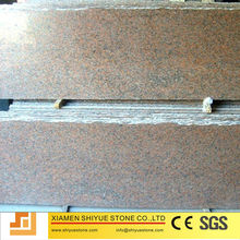 Maple Leaf Red Granite Slab