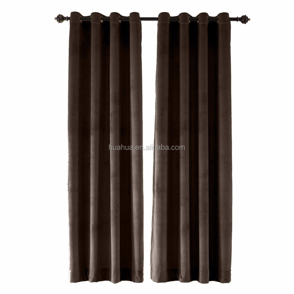 Type of European Style Modern Office Hotel Window American Velvet Curtains Designs for The Living Room Blackout