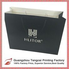 High quality creative fancy Customized Recycled Printed Paper Bag with handle