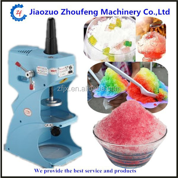 Ice Crusher Machine Crushed Stainless Steel Maker Shaved Snow Shaver Cones Bar (whatsapp:008613782875705)
