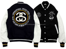 Custom Varsity Jackets with Your Own Logos, Labels, Patches, Beautifully Embroidered Customized Varsity Jackets custom girls