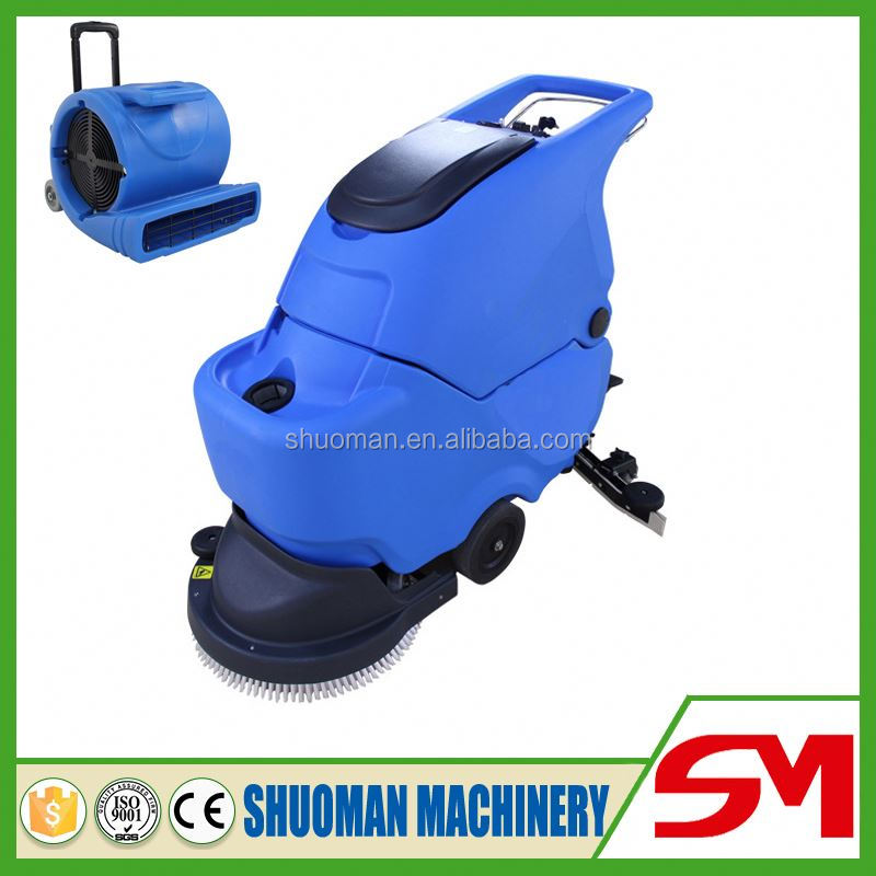 High working efficiency sweeping width vacuum cleaner for concrete floor