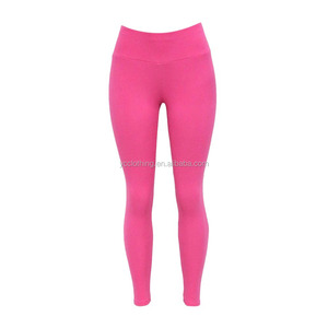 high waist cotton spandex jeggings solid color women leggings wholesale