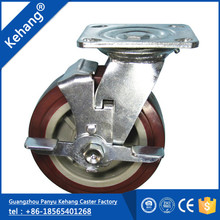 hot sale wholesale new products popularagile pu chinese imports wholesale 1 ton heavy duty pu caster wheel