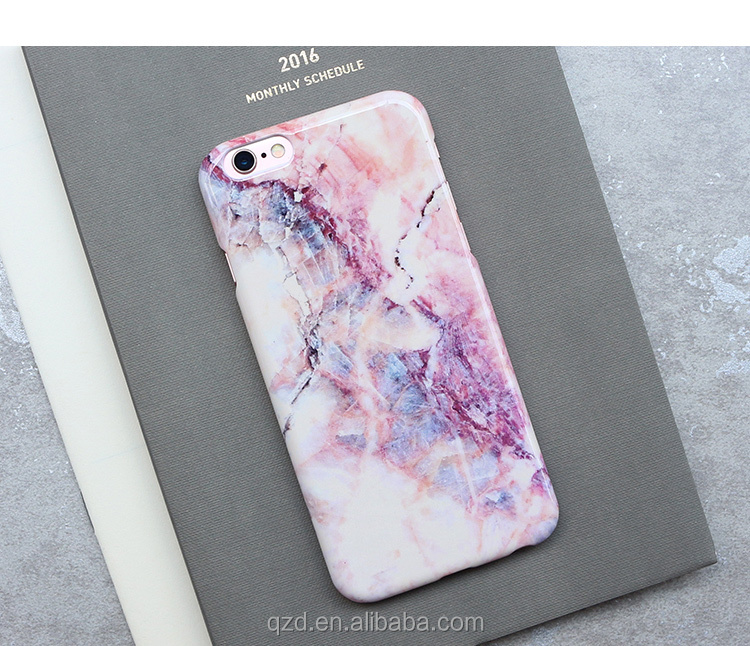 For Apple For iPhone 7 7Plus Purple Crystal Soft Marble Pattern Case Cheap Rubber Cover Case for iPhone 6 6S 6Plus