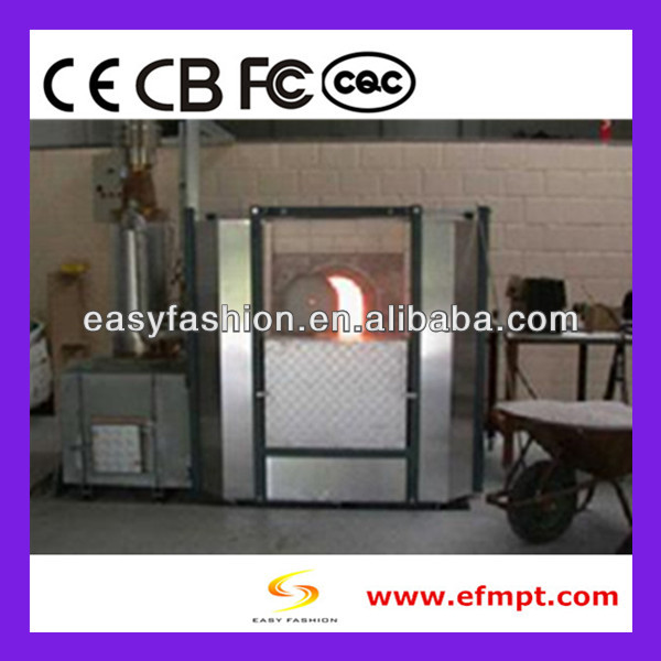 electric glass melting muffle kiln