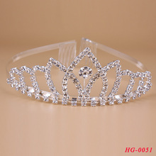 2015 New arrival wedding pageant tiaras crown for sale