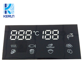 Factory supply Common anode white color inch custom mini 7 segment LED display