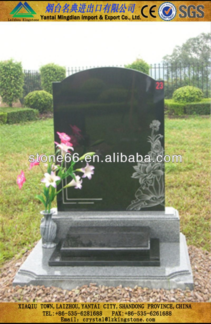 Professional technology marble angel tombstone