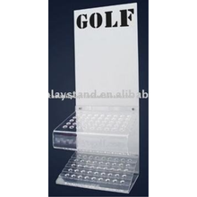 acrylic golf/soccer/football helmet/baseball hot sport display stand