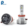 auto parts, LED Super white 6500K XHP50 Chip LED head light fan h1 h3 h7 H11 8000lm led headlight bulb H8