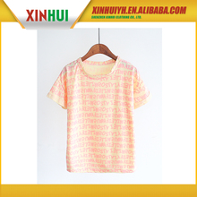 buy wholesale direct from china women's short sleeve korean girls fashion t shirts