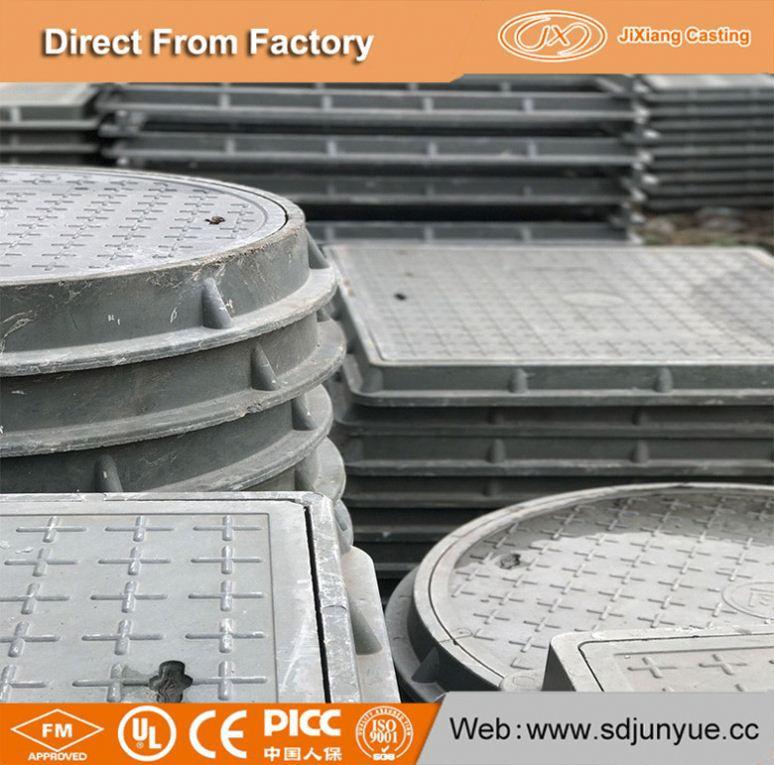 Hot Sale 2017 Road Drain Covers Manhole Cover And Grates Frame