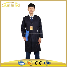 cleanroom esd garment antistatic overalls work clothing with hood