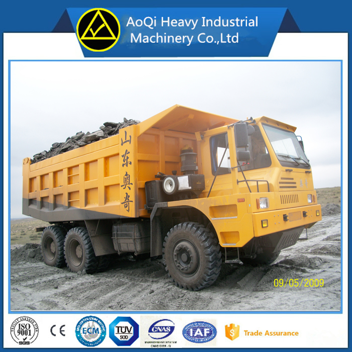 High quality AoQi 6x4 dump truck benz technology used tiper truck with cheap price