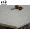 Beige Quartz Table Top With Eased Edges