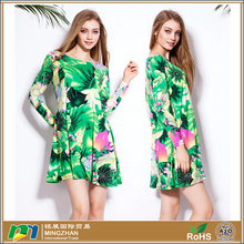 Newest design high quality women dresses lady fashion dress