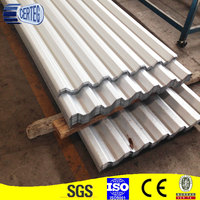 Color coated Corrugated Metal Galvanized Steel Roofing Sheet 2mm