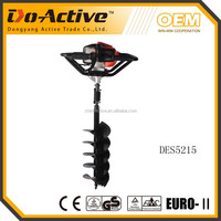 new CE EMC approved 52cc agricultural auger digging machine
