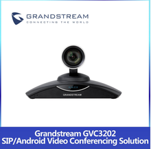Brand-New Grandstream GVC3202 WiFi SIP HD Camera Video Conference Equipment