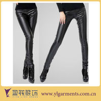 Tight Black Leather Pants