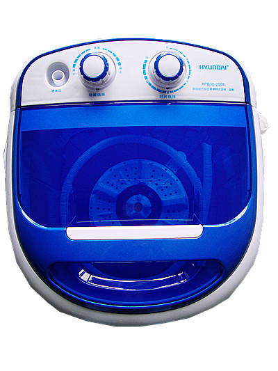 new blue color 3 kg made in China compact portable mini washing machine with dryer