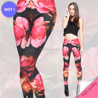 New Womens High Waist Fitness YOGA Sport pants Printed Stretch nude girls pictures sexy pantyhose leggings