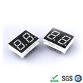 China Ali Supplier 0.43 inch Common anode led 2 digit double 7 segment display for seven segment display driver