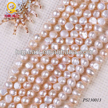 pearl string 12-15mm pink baroque shape pearl