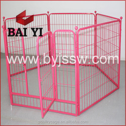 Outdoor Portable Dog Run Fence & Large Metal Dog Exercise Runs (China Manufacturer)