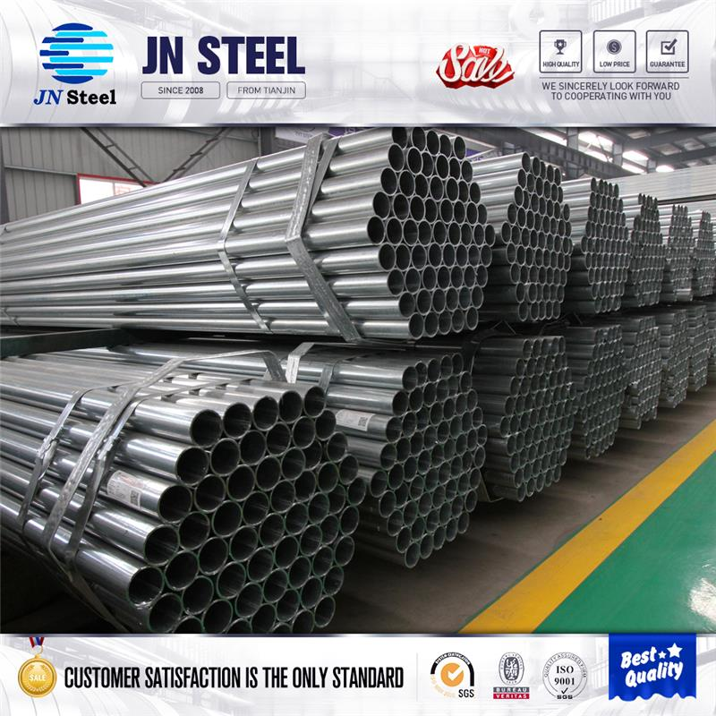 Plastic scaffolding steel pipe hot dip galvanized water line pipe
