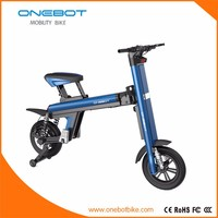 Onebot eco electric bike adult electric chopper bike T8 with Panasonic 8.7Ah power battery