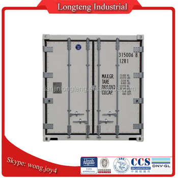 China Newly Build 10ft reefer container sale to Dubai