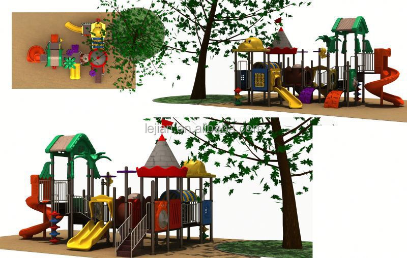 Chinese Castle Series Superior power exciting commercial playground sets