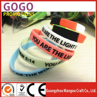 Fashion silicone bangles bracelet factory welcome customize Promotion item high quality cheap custom silicone bracelets for sale