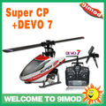 Walkera Super CP with DEVO 7 Mini 3D Helicopter